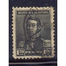 ARGENTINA 1892 GJ 187 FIL SOL GRANDE VALOR ALTO DE LA SERIE