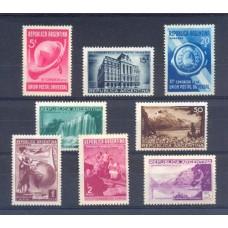 ARGENTINA 1939 GJ 823/830 SERIE COMPLETA UPU NUEVA VALOR CAT. U$ 105