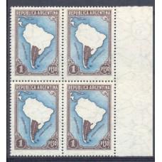 ARGENTINA 1935 GJ 791 PE386 FIL. RAYOS RECTOS CUADRO NUEVO MINT +U$ 52