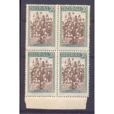 ARGENTINA 1935 GJ 816 PROCERES Y RIQUEZAS 1 CUADRO NUEVO MINT SIN FILIGRANA