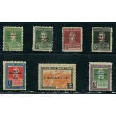 ARGENTINA 1931 ANIVERSARIO REVOLUCION SERIE NUEVA U$ 89