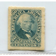 ARGENTINA 1876 GJ 51 PE 35 NUEVO CON GOMA U$ 15