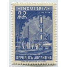 ARGENTINA 1959 GJ 1147 PE 695 INDUSTRIA OFFSET NUEVO MINT U$ 22
