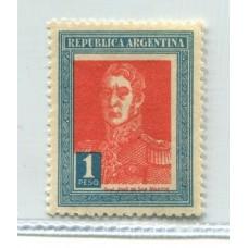 ARGENTINA 1927 GJ 632 FIL AHORRO POSTAL NUEVO U$ 40