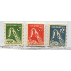 ARGENTINA 1932 GJ 723/5 SERIE COMPLETA NUEVA MINT PE 351/3