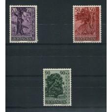 LIECHTENSTEIN 1959 Yv. 339/41 SERIE COMPLETA DE ESTAMPILLAS NUEVAS 22 EUROS