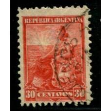 ARGENTINA 1899 GJ 254 DENTADO 12 x 12