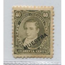 ARGENTINA 1889 GJ 112 NUEVO SOBRECARGA MUESTRA