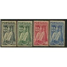 PORTUGAL 1946 Yv. 684/7 SERIE COMPLETA DE ESTAMPILLAS NUEVAS