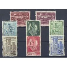 PORTUGAL 1940 Yv. 608/15 SERIE COMPLETA DE ESTAMPILLAS NUEVAS CON GOMA, HERMOSA CALIDAD 35 Euros