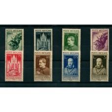 VATICANO 1936 Yv. 72/9 SERIE COMPLETA DE ESTAMPILLAS NUEVAS SIN GOMA 115 EUROS