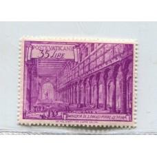 VATICANO 1949 Yv. 147 ESTAMPILLA NUEVA CON GOMA 32,25 EUROS