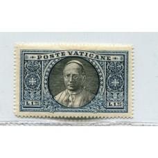 VATICANO 1933 Yv. 54 ESTAMPILLA NUEVA CON GOMA 20 EUROS