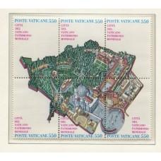 VATICANO 1986 Yv. 786/91 SERIE COMPLETA DE ESTAMPILLAS NUEVAS MINT 12 Euros