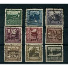 AUSTRIA 1923 SERIE COMPLETA YVERT 304/12  USADA RARA 95  EUROS