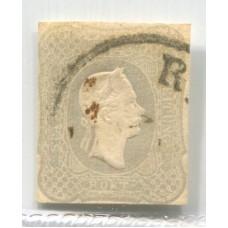 AUSTRIA JOURNAUX 1861 Yv. 7 MUY BUEN EJEMPLAR 450 Euros