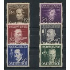 AUSTRIA 1936 YVERT 489/94 SERIE COMPLETA YVERT NUEVA  30 EUROS