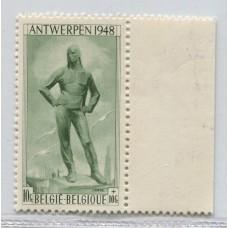 BELGICA 1948 Yv. 785 ESTAMPILLA NUEVAS MINT 50 EUROS
