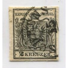AUSTRIA 1850 YVERT 2 MUY BUEN EJEMPLAR 100 EUROS