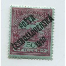 CHECOSLOVAQUIA 1919 Yv. 069 NUEVA CON GOMA 1,50 Euros