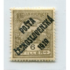 CHECOSLOVAQUIA 1919 Yv. 068 NUEVA CON GOMA 9 Euros