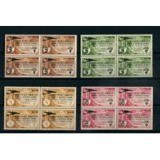 COLONIAS ITALIANAS CIRENAICA 1934 AEREA SERIE COMPLETA ESTAMPILLAS NUEVAS EN CUADROS DOS SON MINT 96 EUROS