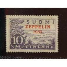 FINLANDIA 1930 Yv. AEREO 1 ESTAMPILLA NUEVA CON GOMA 150 Euros