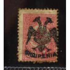 ALBANIA 1913 Yv. 05 ESTAMPILLA NUEVA CON GOMA, RARA 240 EUROS