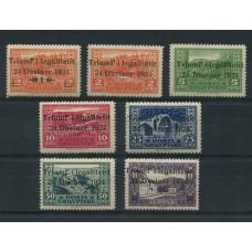 ALBANIA 1924 Yv. 144/50 SERIE COMPLETA DE ESTAMPILLAS NUEVAS 43,50 EUROS