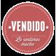 ARGENTINA 1862 GJ 19 BUENOS AIRES PE 15 ESTAMPILLA DE ESTUPENDA CALIDAD LUJO U$ 150